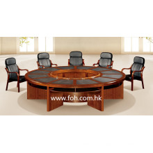 Hölzerne große runde Konferenztisch Konferenztisch Klassische Büromöbel (FOHSC-3006)