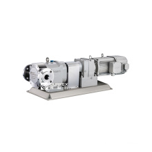 Good quality lobe pump in chemical industry