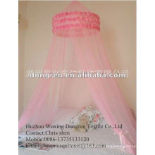 100%Polyester Round Circular Mosquito Net for double or single bed