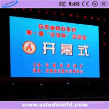 Panneaux d'affichage électronique électroniques polychromes fixes d'intérieur de P6 LED