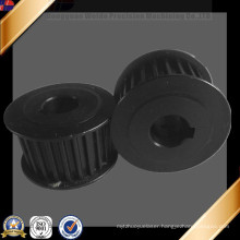 ISO 9001 Certificated Black Anodized CNC Turning Motor Part Motorcycle Part