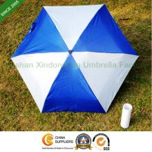 Aluminium cinq pli bouteille publicitaire, parapluie publicitaire (BOT-5619A)