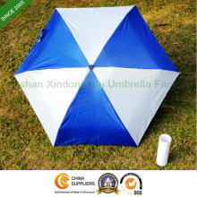 Aluminium Five Fold Promotional Bottle Umbrella for Advertising (BOT-5619A)