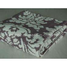 Polyester Decke gestrickte Decke (PB-K0812)