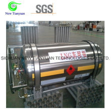 383L Large Nominale Volume LNG Cryogenic Tanker Cylinder