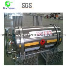 383L Большой номинальный объем LNG Криогенный цилиндр цистерны