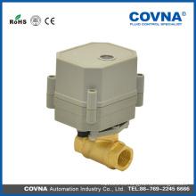 2 vías mini válvula motorizada para DC24V DC12V AC110V 220V