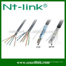 24AWG UTP Solid Cat5e Câble Lan Retractable
