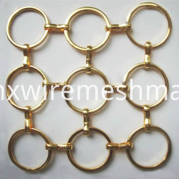 metal-ring-mesh-s-hook-round-brass
