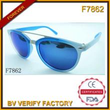 Les bijoux de luxe Blue Lunettes de soleil (F7862)