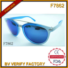 The Luxurious Jewelry Blue Sunglasses (F7862)