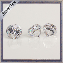 Hot Sale Diamond Cut Cubic Zirconia with Thick Girdle