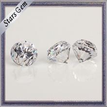 Горячие продажи алмазов огранки кубического циркония с толщиной Рундиста