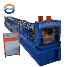 Atap baja Ridge Cap Cold Roll Forming Machine