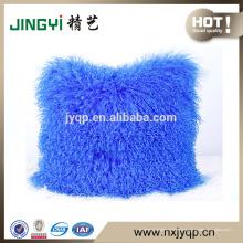 Großhandel tibetischen mongolischen Lammfell Wolle Kissenbezug