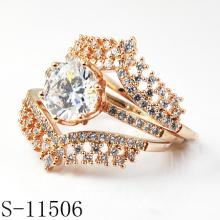 Späteste Entwurfs-Art- und Weiseschmucksache-925 silbernes Braut-Set (S-11506)