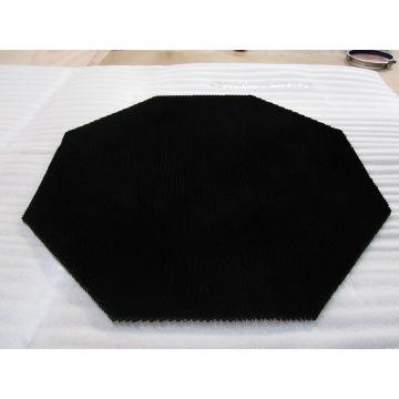 Black Micro-Aperture Honeycomb Core Reflector