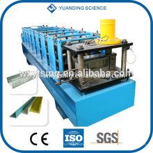 Passado CE e ISO YTSING-YD-0829 LUV canal Purlin Roll formando máquina Fabricante