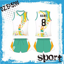 Wholesale Cheap OEM Custom Sublimation Printed Womens Mens Volleyball Jerseys
