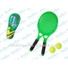 Pequenos brinquedos de raquete de tênis para crianças