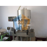 Negative pressure filling machine