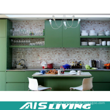 Europe Style Green Malamine Kitchen Cabinet Furniture (AIS-K336)