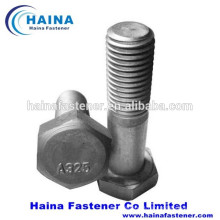 ASTM A325 heavy hex bolt