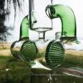 Earth Explorer новейшие стеклянные трубки для курения питьевой воды (ES-GB-285)
