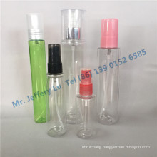 Pet Plastic Bottles with Fine Mist Spray and PP Overcap