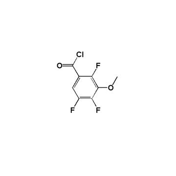 Chlorure de 2, 4, 5-trifluoro-3-méthoxybenzoyle N ° CAS: 112811-66-2