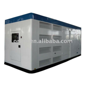 440kw high quality soundproof diesel generator with SDEC diesel engine