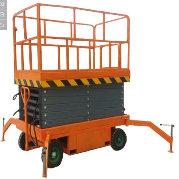 Plataforma suspendida autopropulsada de elevación eléctrica 300kg 12m