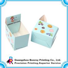 Caja de papel perforada de alta calidad del papel de arte de la impresión de CMYK al por mayor