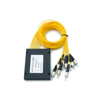 Best Price for PLC Splitter Gpon Pon Passive Optical Fiber Splitter export to Italy Manufacturer