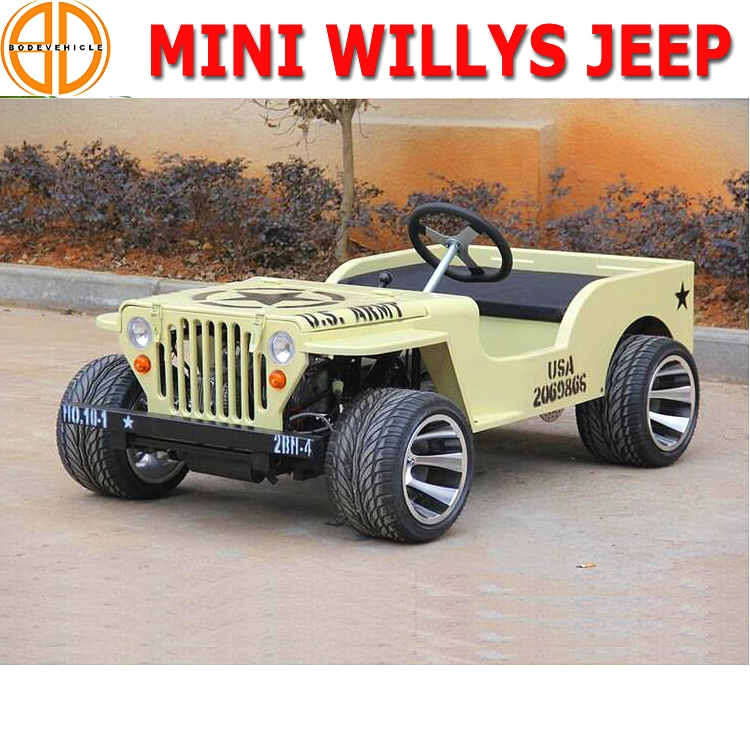 Bode Quality Assured Willys Mini Jeep 150cc for Sale Bc
