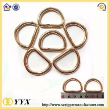 Hot sale metal D ring for bags