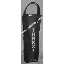 Nylon Wine Bottle Bag (HBWI-012)