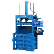 Waste Cotton Wool Compressed Packaging Equipment Electric Baling Machine