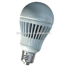 Luz de bulbo do diodo emissor de luz do corpo de alumínio alto brilhante