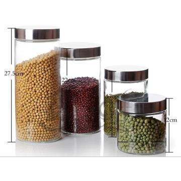Glass Jar for Pasta, Tea, Coffee