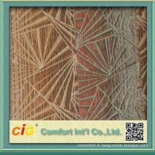 Nouveaux tissus de tapisserie d'ameublement de Chenille de jacquard de polyester de style