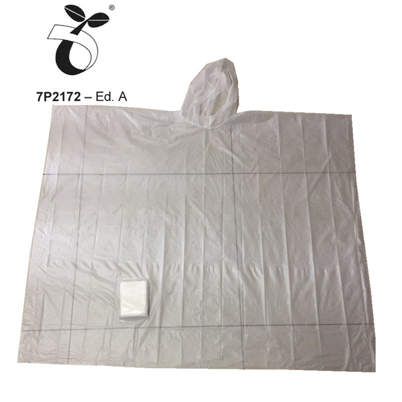Biodegradable Rain Poncho1