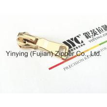 Control deslizante de cremallera metálica deslizante de cliente de alta calidad