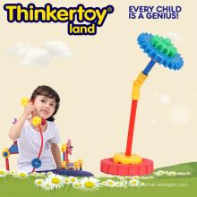 Umbrella Model Gear Blocks Brinquedos Educação Brinquedo para Crianças