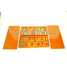 Montessori Large Movable Alphabet, Wood