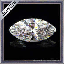 Twinkle White Marquise Shill Blilian Cut Cubic Zirconia