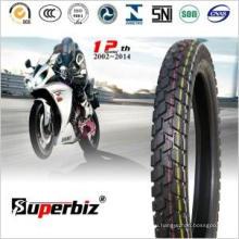 Бескамерные шины для мотоциклов-де-Cauchos (110/90-16) (110/90-17) (2.75-17) (3.00-18) (4.10-18)