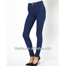 2014 New U'sake China Manufacturer Woman High Waist Skinny Denim Jeans S149021