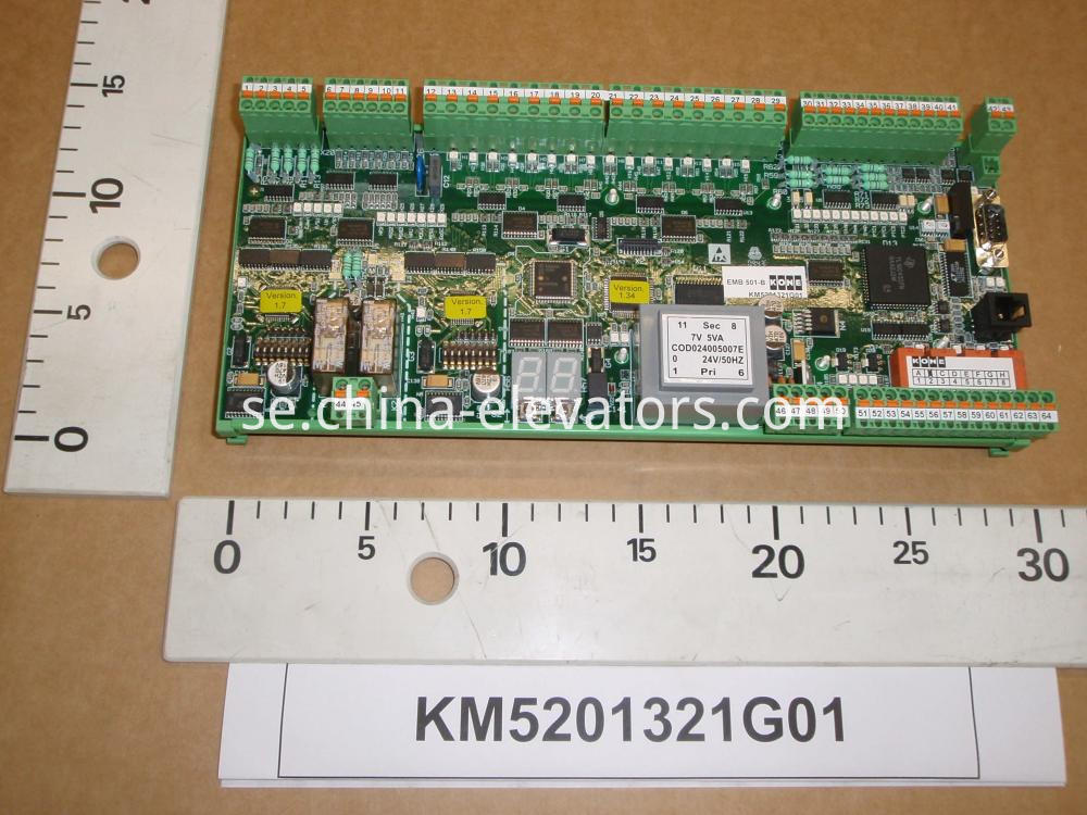 KONE Escalator Mainboard KM5201321G01