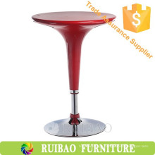 Cheap Modern Coffee Table Bar Furniture Plastic ABS ajustável alto